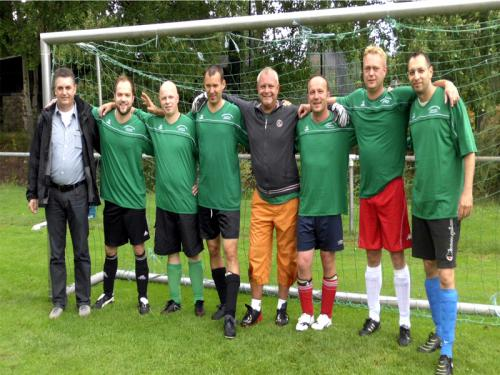 Fußballmaschaft 2012