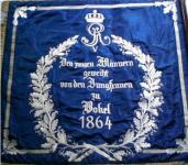 Fahne erste Kompanie